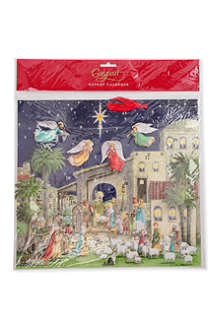 CASPARI Nativity Scene advent calendar