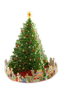 CASPARI Pop up nativity tree advent calendar