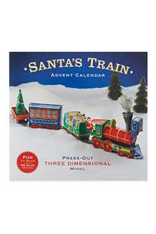 CASPARI Santa's train advent calendar