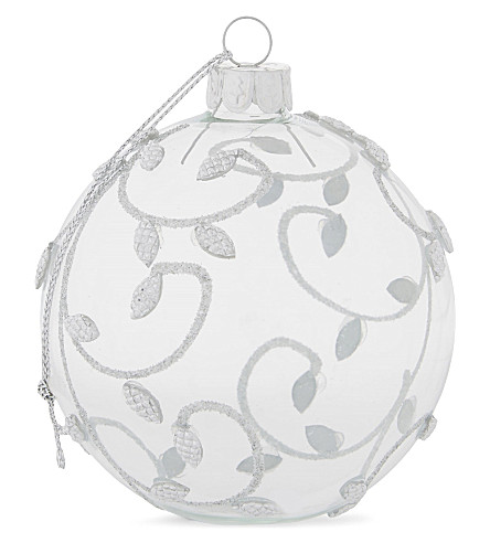 HANGING ORNAMENT Glass decoration 7cm