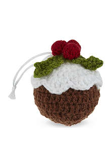 GISELA GRAHAM Christmas Pudding tree decoration