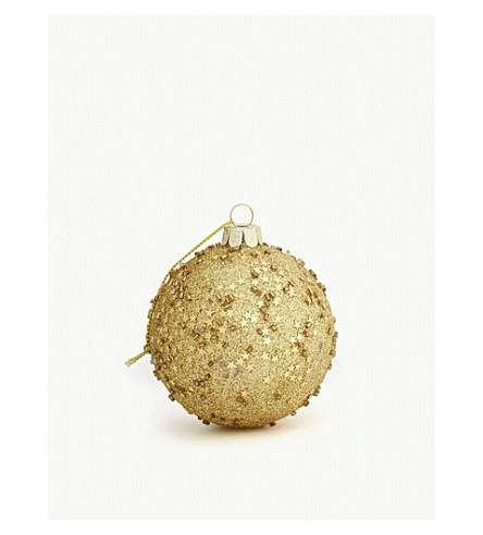 HANGING ORNAMENT Sequin glitter bauble