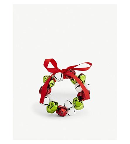 GISELA GRAHAM Jingle bell wreath 9cm