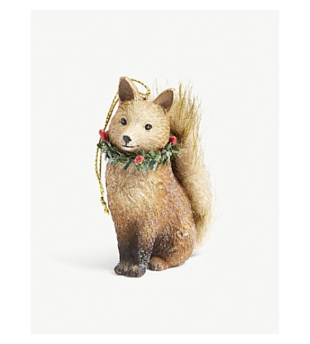 <mstrans:dictionary translation=&quot;HANGING ORNAMENT&quot;><mstrans:dictionary translation=&quot;HANGING ORNAMENT&quot;>HANGING ORNAMENT</mstrans:dictionary></mstrans:dictionary> Resin fox hanging ornament 6厘米