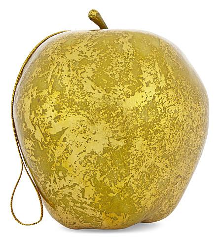 HANGING ORNAMENT Apple bauble 8cm