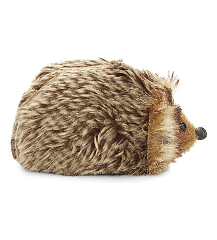 HANGING ORNAMENT Faux-fur hedgehog hanging ornament
