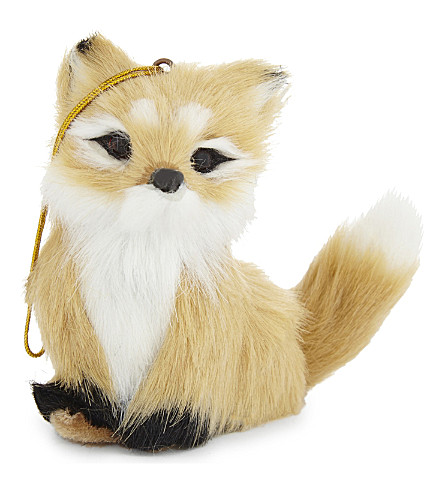 HANGING ORNAMENT Fox hanging ornament 7.5cm