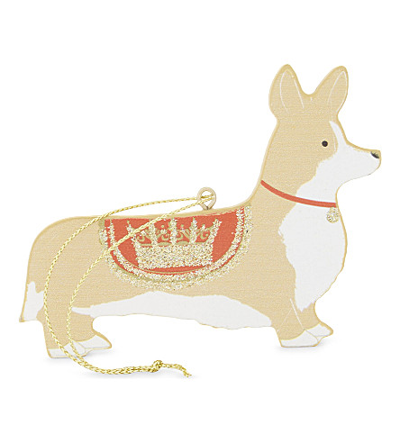 HANGING ORNAMENT Corgi hanging ornament 7cm