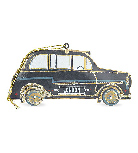 HANGING ORNAMENT London taxi decoration 5cm