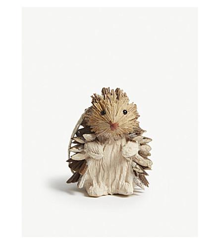 HANGING ORNAMENT Hedgehog hanging ornament 9cm