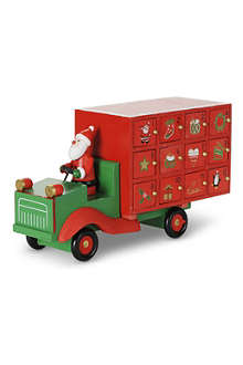 GISELA GRAHAM Santa Lorry advent calendar