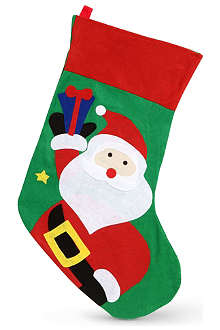 GISELA GRAHAM Santa stocking 75cm