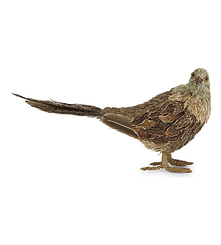 HANGING ORNAMENT Bristle feather pheasant ornament