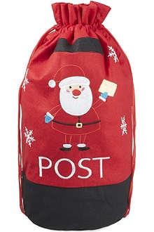 GISELA GRAHAM Felt Santa sack