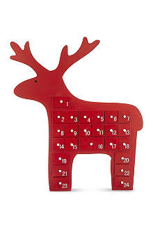 GISELA GRAHAM Reindeer advent calendar