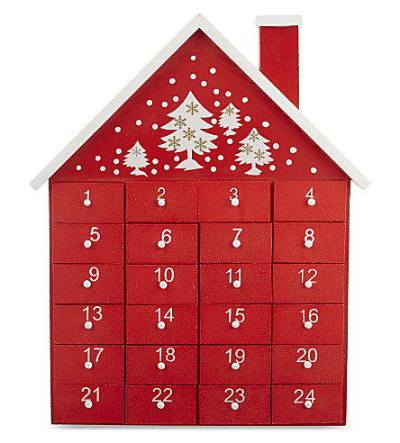 GISELA GRAHAM Christmas House advent calendar