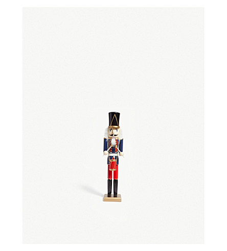 HANGING ORNAMENT Wooden nutcracker solider statue 50cm