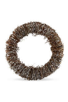 GISELA GRAHAM Frosted twig wreath 34cm