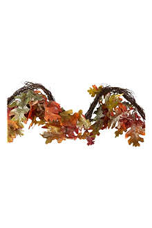 GISELA GRAHAM Autumn oak leaf garland