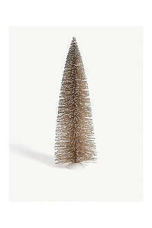 GISELA GRAHAM Gold glittered fir tree 45cm