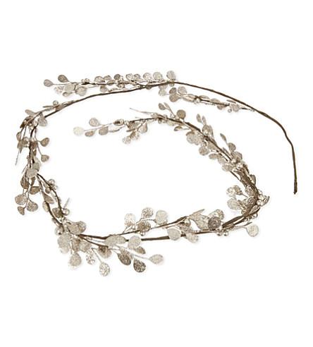 HANGING ORNAMENT Glitter garland 170cm