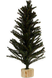 GISELA GRAHAM Green fir Christmas tree 60cm