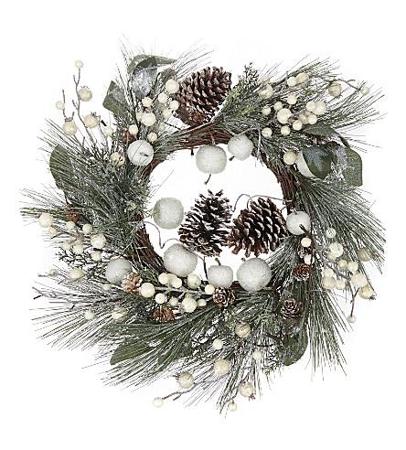 HANGING ORNAMENT Fruit wreath 46cm
