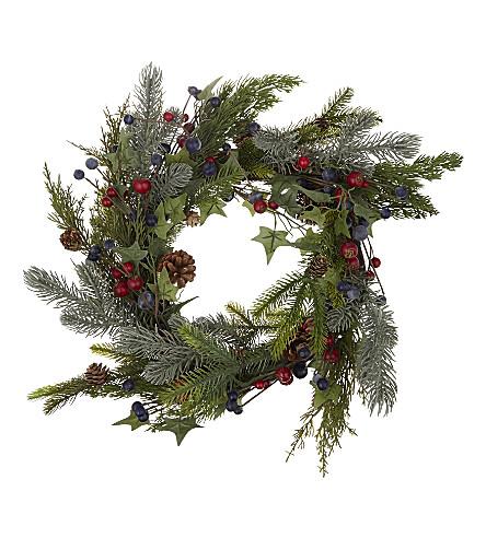 HANGING ORNAMENT Berry wreath 40cm