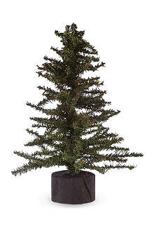 GISELA GRAHAM Mini fir tree 38cm