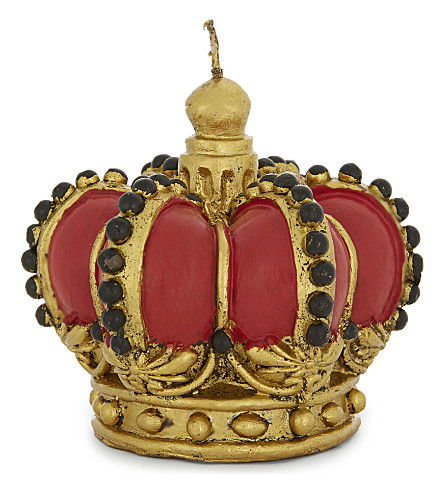 HANGING ORNAMENT Red crown candle 9cm