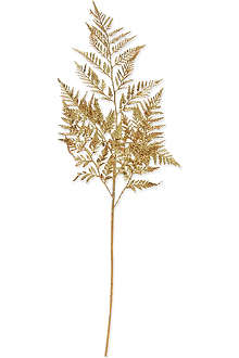 GISELA GRAHAM Traditional gold fern 79cm