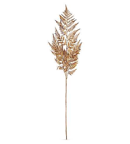 HANGING ORNAMENT Traditional copper fern 79cm