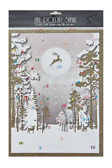 NONE Forest advent calendar