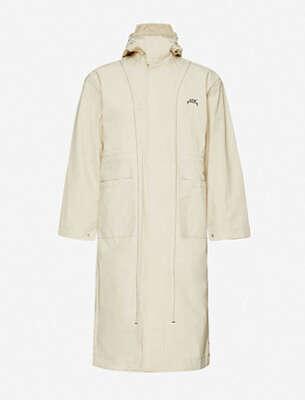 Craig Green Contrast-trimmed cotton-pique polo shirt