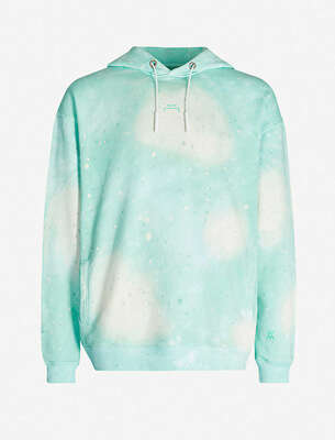 Craig Green Hole-embellished cotton-jersey hoody
