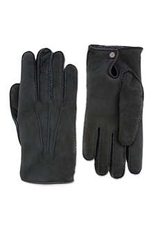 FACONNABLE Shearling gloves