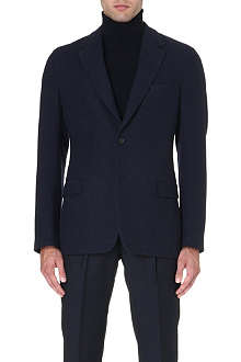 FACONNABLE Cashmere-blend single-breasted blazer