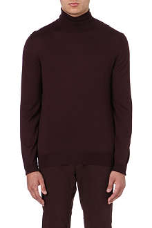 FACONNABLE Roll-neck merino wool jumper