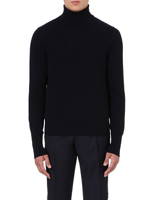 FACONNABLE Cashmere roll-neck jumper