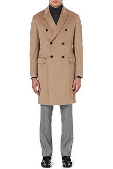 FACONNABLE Double-breasted wool coat