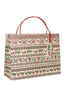 EMMA BRIDGEWATER Joy large giftbag