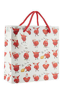 MADELEINE FLOYD Ho Ho Ho medium gift bag