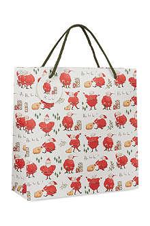 MADELEINE FLOYD Santa large giftbag