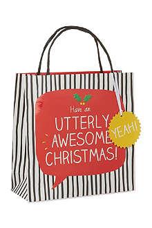 HAPPY JACKSON Utterly Awesome Christmas giftbag