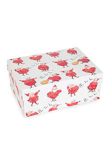 CHRISTMAS Ho Ho Ho medium gift box