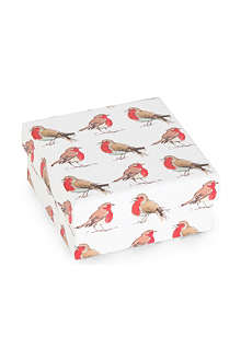 CHRISTMAS Robin small gift box