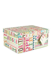 PENNY KENNEDY Large Christmas gift box