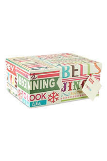 PENNY KENNEDY Medium Christmas gift box