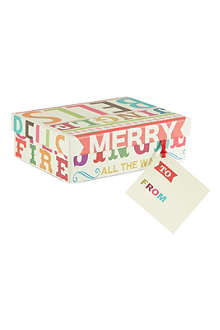 PENNY KENNEDY Extra small Christmas gift box