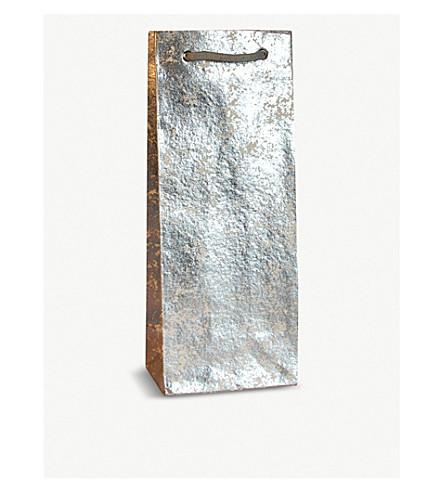 VIVID WRAP Crush metallic bottle bag